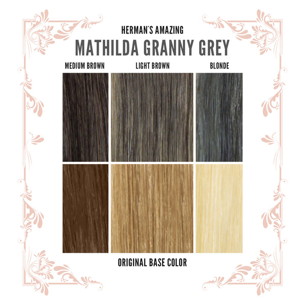 Hermans Amazing Mathilda Granny Grey