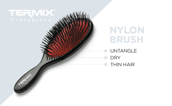 Termix Pneumatic Nylon Bristle Brush - Small