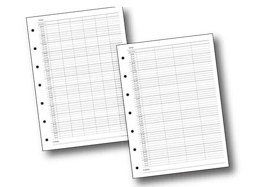 Quirepale Universal Refill Pages