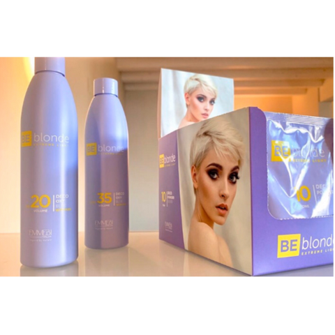 Be Blonde Deal - 1 x 30g Bleach and 1 x 20vol oxy (250ml)