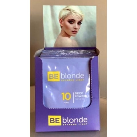 Be Blonde Extreme Light 10 - Dust Free Bleach Powder - 30g Sachet
