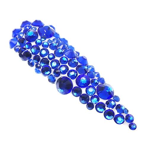 Genuine Cristallo Nail Stones - Bright Blue