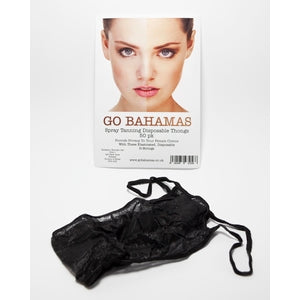Go Bahamas Thongs / G Strings (pack of 50)