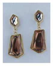Load image into Gallery viewer, Faux stone drop earrings - crespo-cynergy