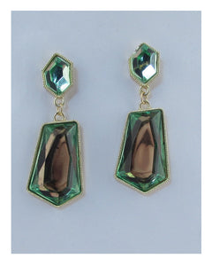 Faux stone drop earrings - crespo-cynergy