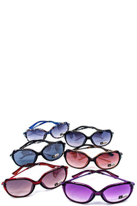Fashion classy rhinestone accent sunglasses - crespo-cynergy