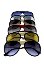 Load image into Gallery viewer, Womens simplistic aviator sunglasses - crespo-cynergy