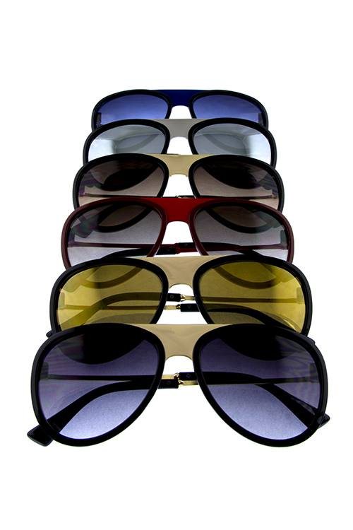 Womens simplistic aviator sunglasses - crespo-cynergy