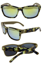 Load image into Gallery viewer, Mens camo boxframe plastic sunglasses - crespo-cynergy