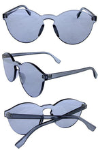 Load image into Gallery viewer, Womens thick transparent rimless horn sunglasses - crespo-cynergy
