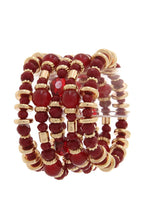 Load image into Gallery viewer, Beaded stretch bracelet - crespo-cynergy