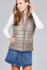 Quilted padding vest - crespo-cynergy