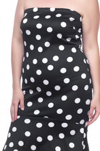 Load image into Gallery viewer, Sleeveless polka dot dress - crespo-cynergy