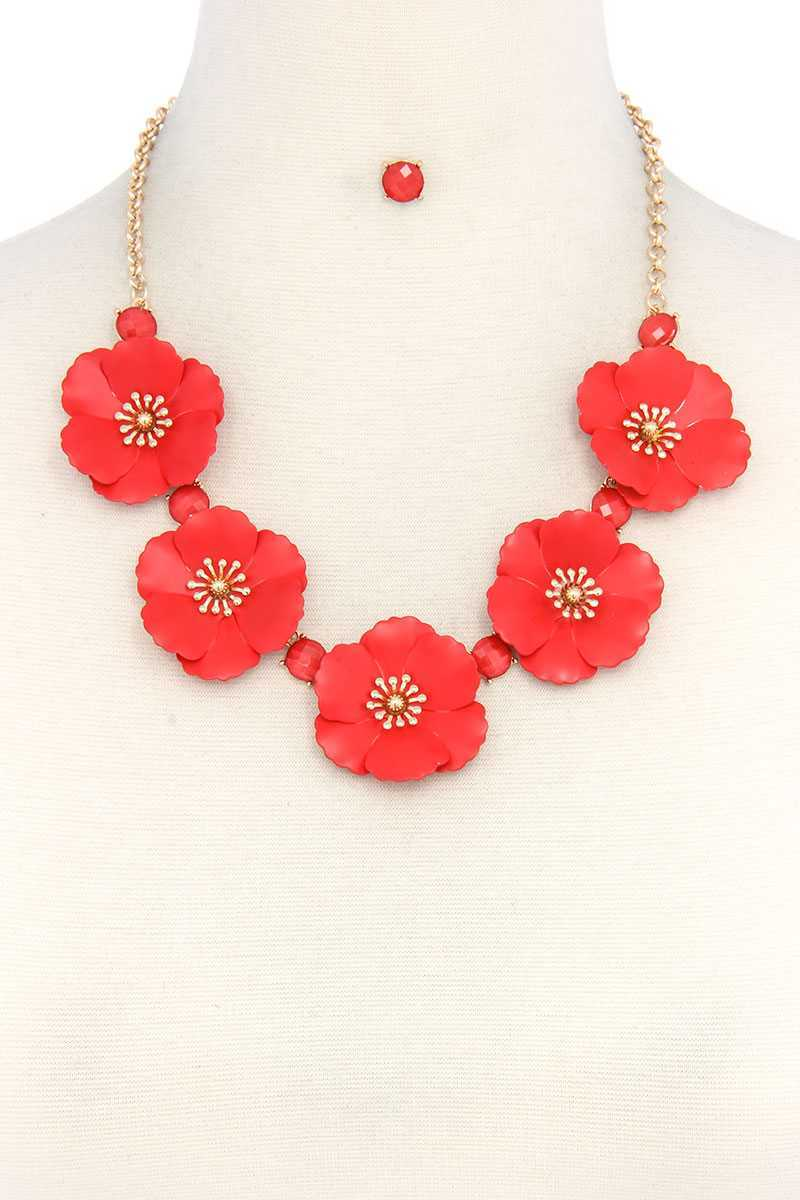Flower Necklace - crespo-cynergy