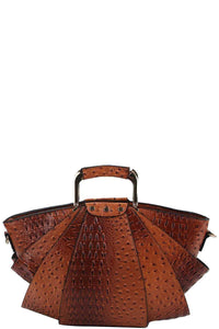 2in1 modern stylish fan satchel with long strap - crespo-cynergy