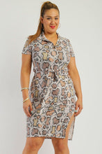 Load image into Gallery viewer, Print midi tee dress - crespo-cynergy