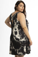 Load image into Gallery viewer, Sleeveless summer dress featuring a cross back detail - crespo-cynergy