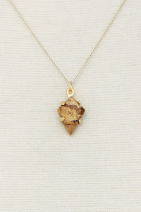 Modern Fashion Stone Pendant Necklace - crespo-cynergy