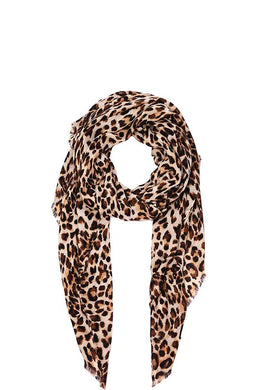 Hot trendy leopard print scarf - crespo-cynergy