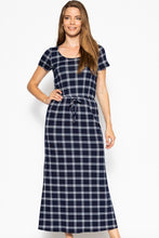 Load image into Gallery viewer, Short Sleeved Maxi Dress - crespo-cynergy