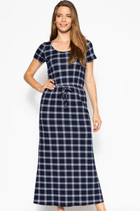 Short Sleeved Maxi Dress - crespo-cynergy