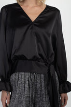 Load image into Gallery viewer, Surplice Wrap Front Top - crespo-cynergy