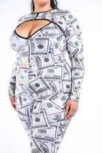 Load image into Gallery viewer, New Money Old Money Catsuit