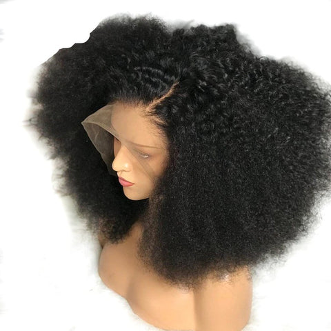 Diamond Kinky Curly Lace Frontal Wigs - Hair Fetish Studio The Collection