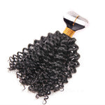 Deep Curly Tape In Remy Hair Extensions - Hair Fetish Studio The Collection