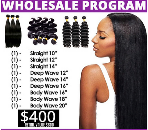 Wholesale Package 2 - Hair Fetish Studio The Collection