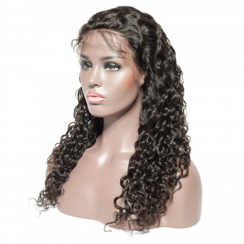 Diamond Lace Frontal Deep Wave Wigs - Hair Fetish Studio The Collection
