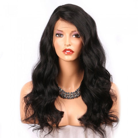 Diamond Lace Frontal Natural Wave Wigs