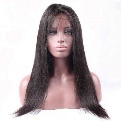 Diamond Transparent Lace Frontal Straight Wigs