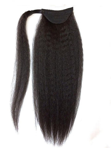 Kinky Straight  Ponytail Hair Extensions - Hair Fetish Studio The Collection