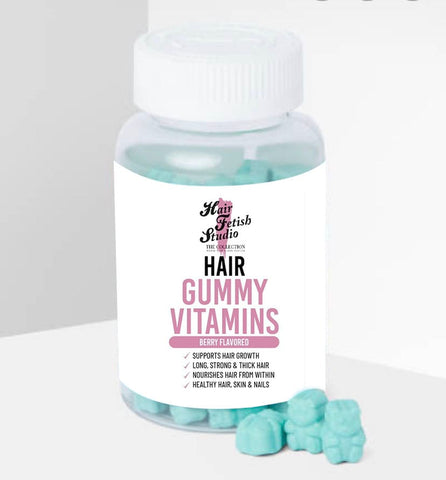 Hair Gummy Vitamins - Hair Fetish Studio The Collection