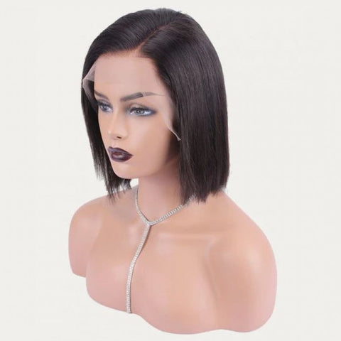Diamond Lace Frontal Bob Wigs - Hair Fetish Studio The Collection