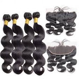 Brazilian 4 Bundle Deal W/Frontal - Hair Fetish Studio The Collection