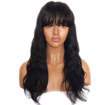 Diamond Straight Bang Lace Frontal Wigs - Hair Fetish Studio The Collection