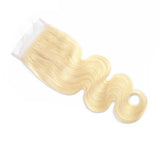 613 Blonde Transparent 4x4 Lace Closures - Hair Fetish Studio The Collection