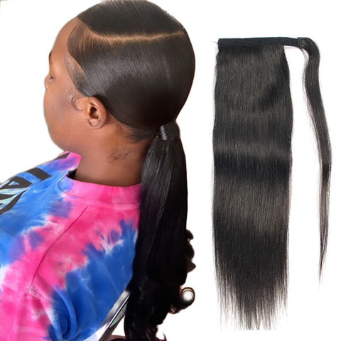 Straight Ponytail Hair Extensions
