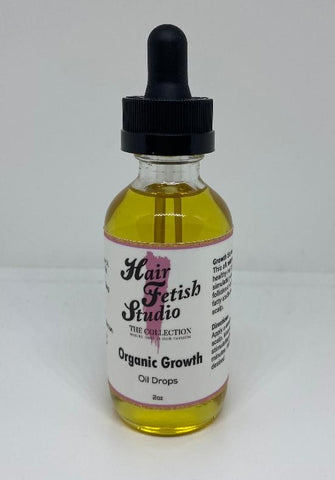 Organic Growth Oil Drops - Hair Fetish Studio The Collection