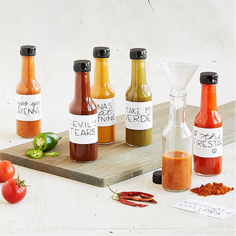 Make Your Own Hot Sauce Kit - Valentine's Day Gift Guide by Roam Often - Gifts for him, Gifts for your boyfriend