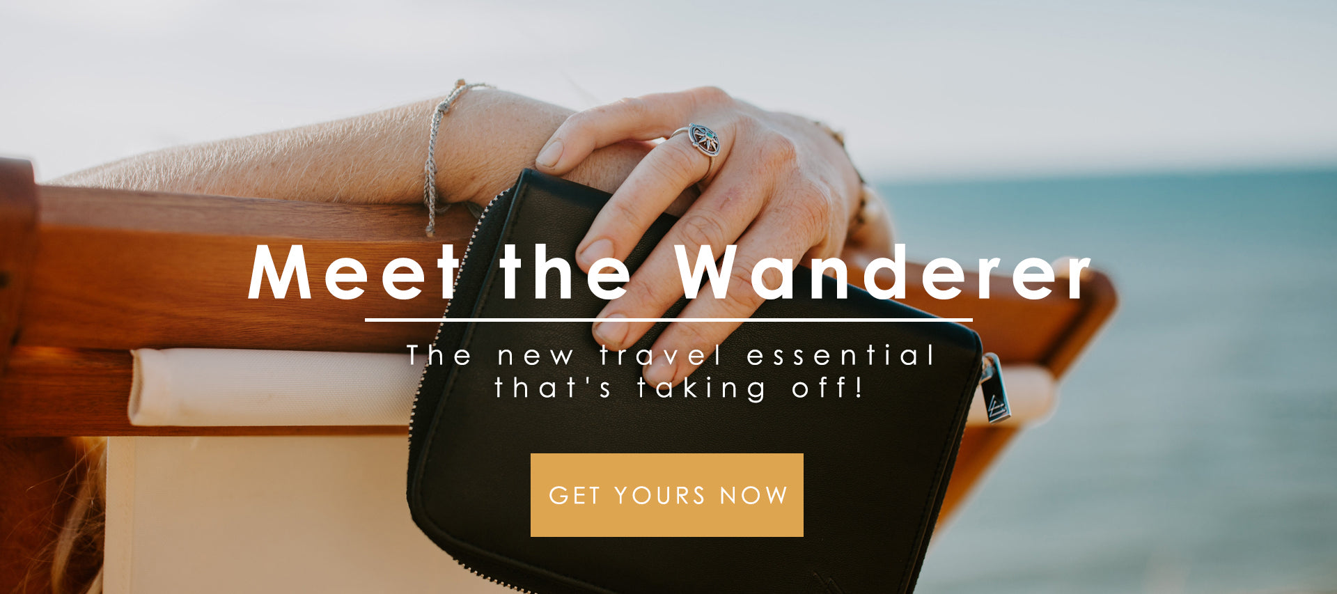 The Wanderer Jewelry Travel Case - Roam Often