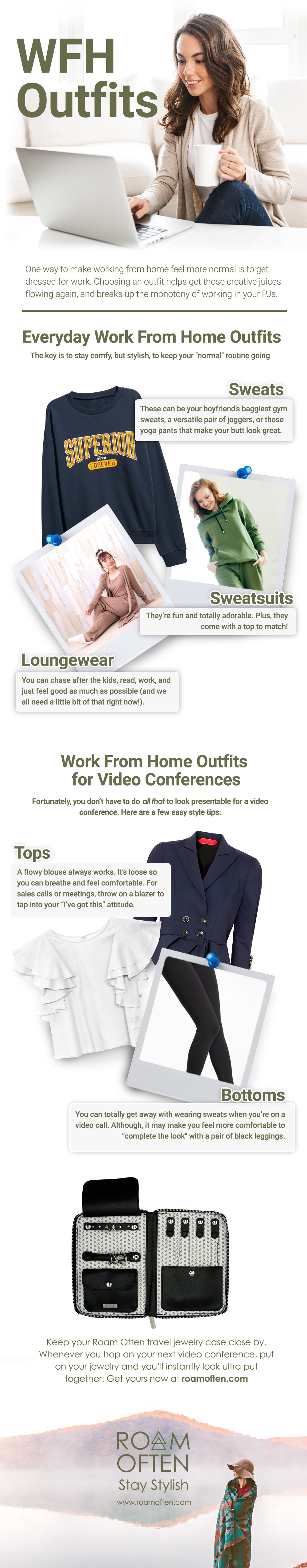 WFH Outfit Tips - Working From Home Outfit Ideas