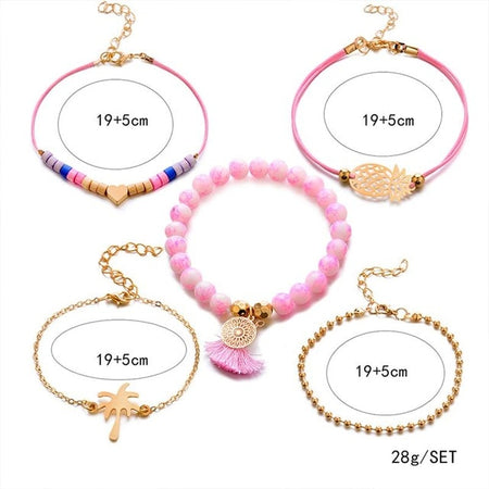 Bracelet Attrape Reve | Quartz Rose - Attrape Reve Shop