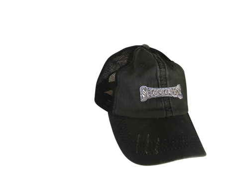 STORM Ditressed snap-back trucker Hat