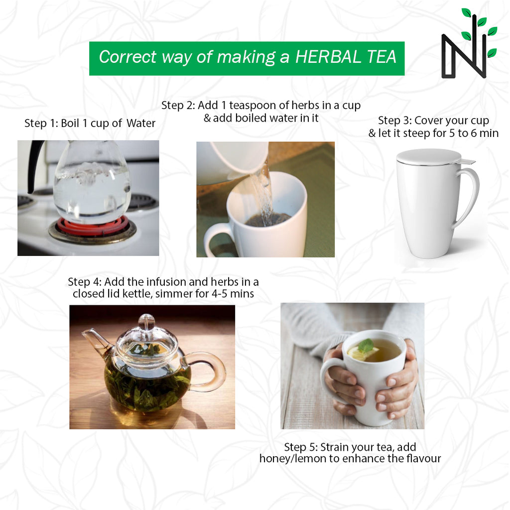 How to make a perfect cup of Herbal Tea?