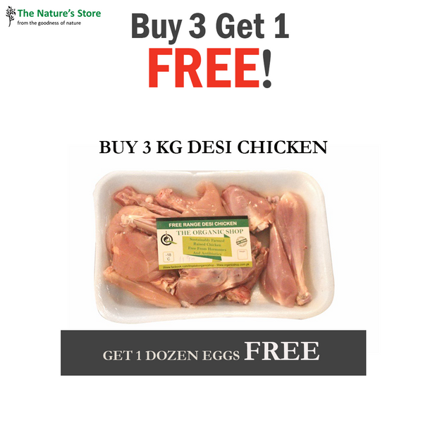 Buy 3 Get 1 FREE (Desi Chicken)