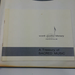 A Treasury of Sacred Records 1960 w/ Detailed Reference LP Guide Religious Music
