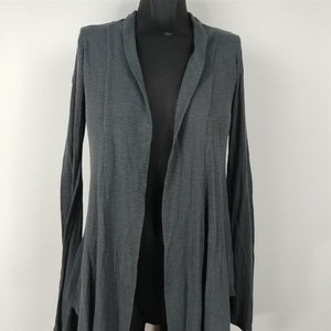 Julia Gray Long Sleeved Cardigan Lightweight Sweater Womens Size S